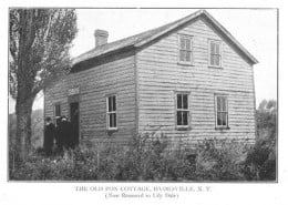 A photo of the original Fox homestead.