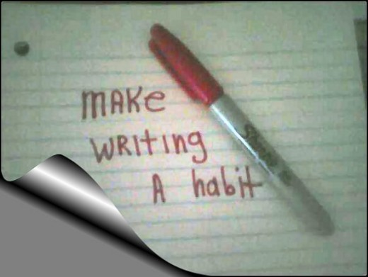 Make It A Habit...