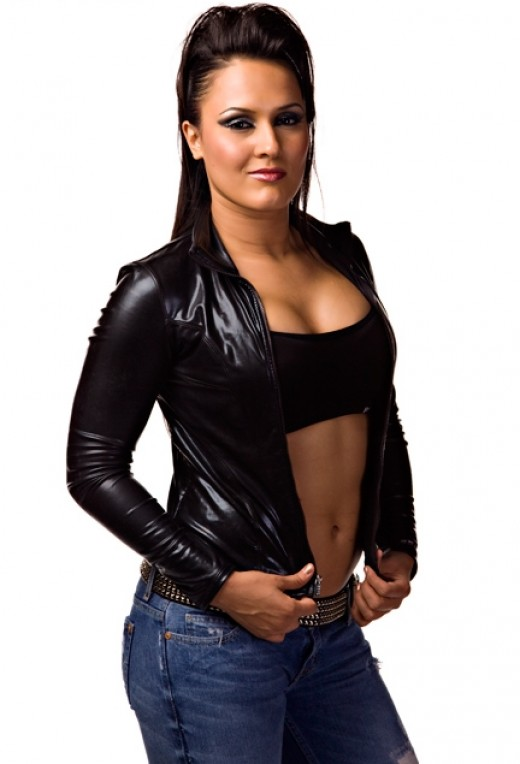 Former TNA Knockout Alissa Flash aka Raisha Saeed aka Cheerleader Melissa