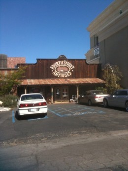 The perfect place to find antique furnishings in Old Town Temecula.