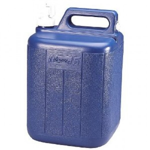 Coleman Water Carrier (5-Gallon, Blue)
