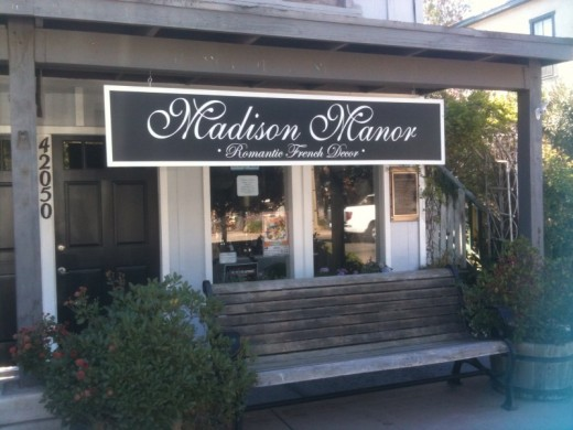 "Fine french décor with a ""shabby chic"" flare in Old Town Temecula."