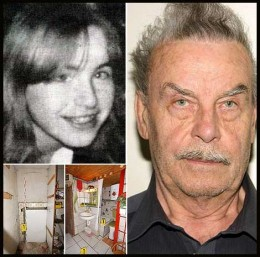 Elisabeth was 18 when her father-abductor-rapist Josef hide her below the house in a cellar as sex slave for 24 years.