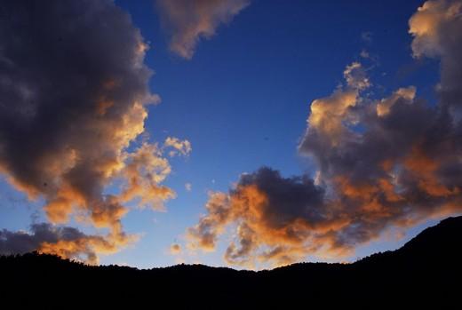 Pic of sky of Harsil in Uttaranchal