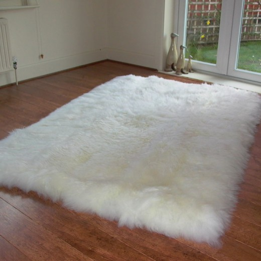 Luxury Natural Sheepskin Rugs