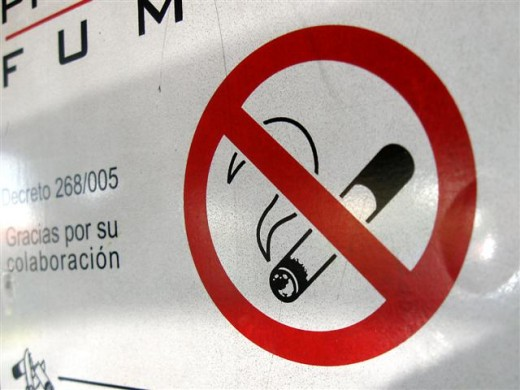 Avoid smoking as it causes many diseases.