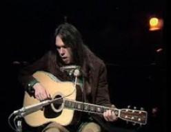 Neil Young circa 1970's