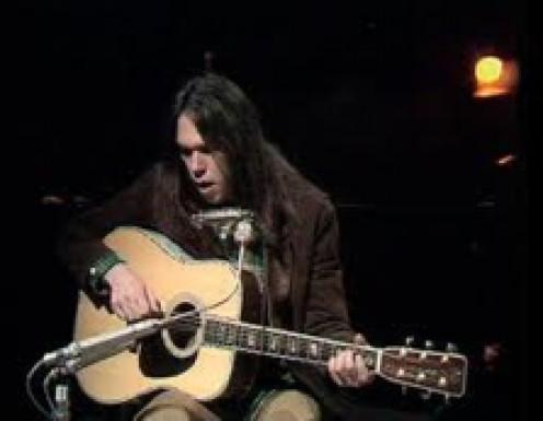 Neil Young circa 1970s