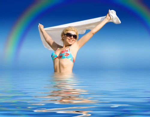 Description: Rainbow Beach Water License: http://www.photoxpress.com/Info/RFLicense Author: Lev Dolgatshjov