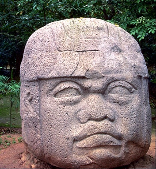 The mysterious Olmecs appears very negroid. They were the precursor to the Maya and Aztecs. There are few traces beyond massive granite carvings.