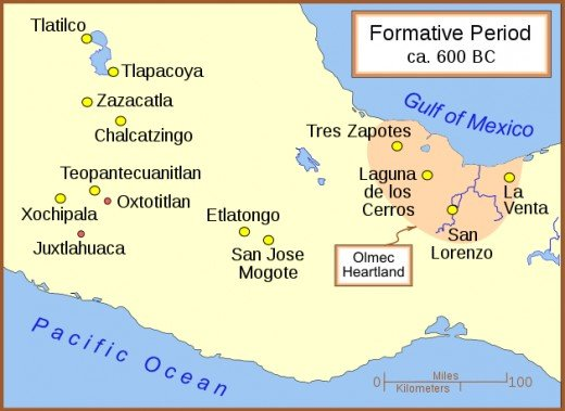 This region near the Yucatan peninsula was the home of the Olmec prior to the classic Maya.