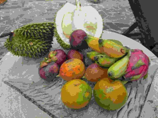 Local Fruits found in Bali, Indonesia