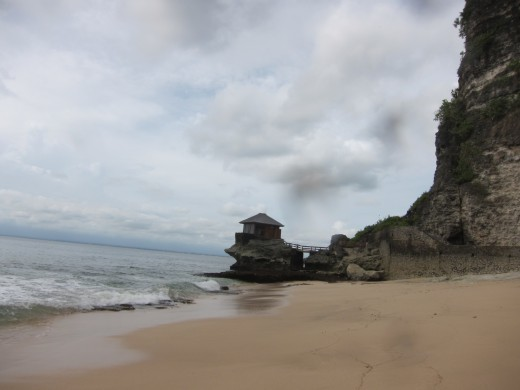 A private beach at Ayana Resort, Jimbaran Bali
