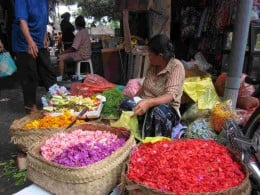 Local market place in Ubud, Bali