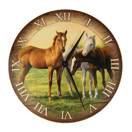 Time: Finding time to spend with horses can be difficult