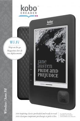 New Kobo WiFi in black.