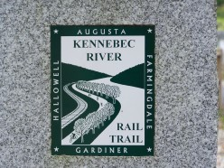 Kennebec River Rail Trail - A Central Maine Gem