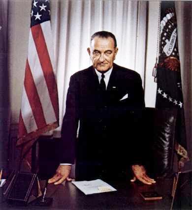 U.S. President, Lyndon B. Johnson