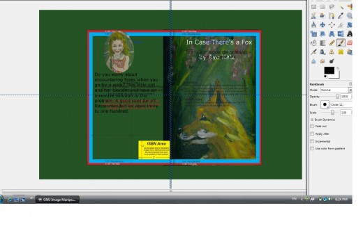 How To Make A Book Cover Using Gimp : How to make a createspace cover using gimp