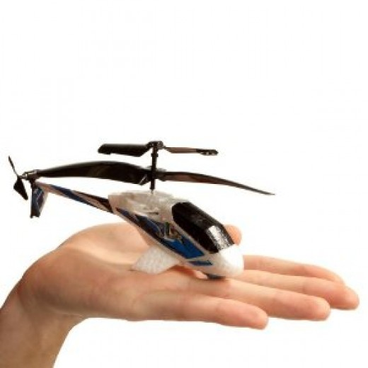 Air Hogs Havoc Heli fits in the palm of your hand!