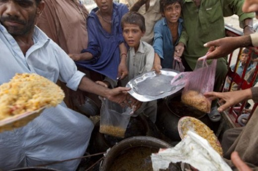 Very Poor and innocent Men ,children,women and girls are begging for food for their hunger