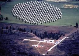 Radio  Telescopes at the SETI Institute searching for sign's of Alien life.