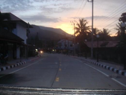 New road in Thong Nai Pan Yai