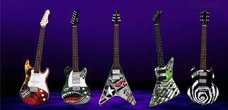 Paper Jamz Guitar Models
