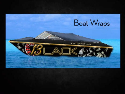 Advertise your business while not working.  Boat wraps is smart advertising.