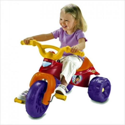 Fisher price dora the explorer tricycle