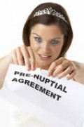 Don't act so fast! Pre-nups are beneficial--and positive legal documents. You need to change your thinking!