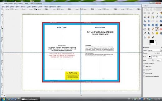 How To Make A Book Cover In Gimp ~ How to make a createspace cover using gimp