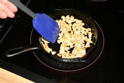 Toasting Acorn Squash Seeds in an Iron Skillet