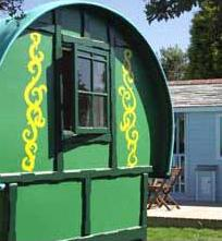 Gypsy Caravan Holidays in Cornwall.  Unique holiday lets.