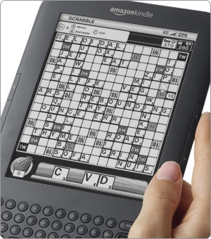 Scrabble, on the Kindle