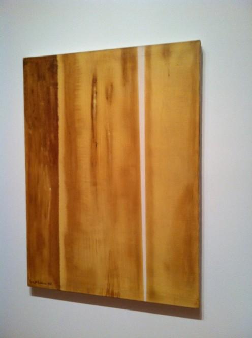 One of several Barnett Newman Paintings