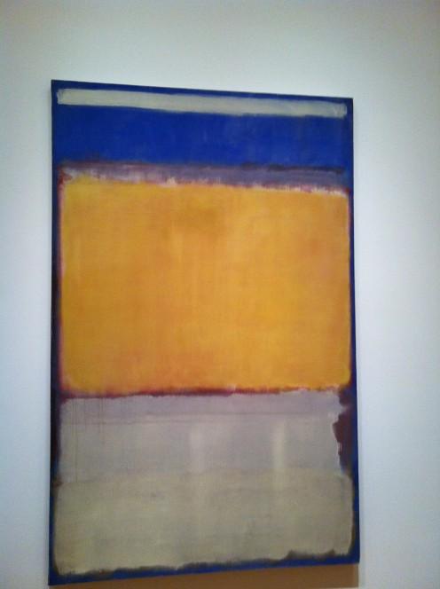 A sunnier Rothko