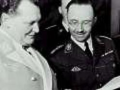 Himmler with Goerring