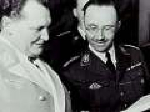 Himmler with Goerring