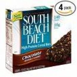 Chocolate South Beach Diet Bars. Yum!