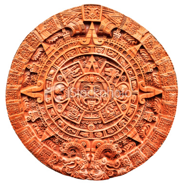 The sun stone is a calendar system that worked on a couple of systems, some of it interchangeable with the Maya, but not all. It calculates the year as 365 days.
