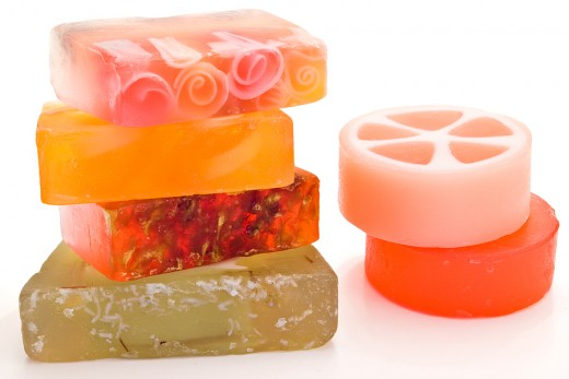 Making your own bath and body soap is a great way to personalize gifts for friends and family!