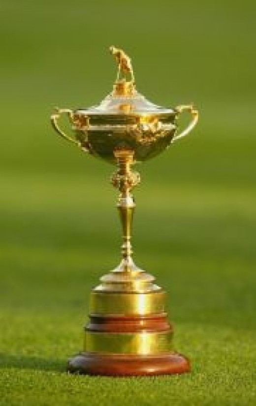 The Ryder Cup - huge competition between the USA and Europe