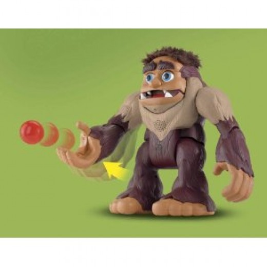Bigfoot the Monster toy throwing ball