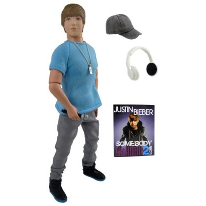 Justin Bieber doll in Street Style