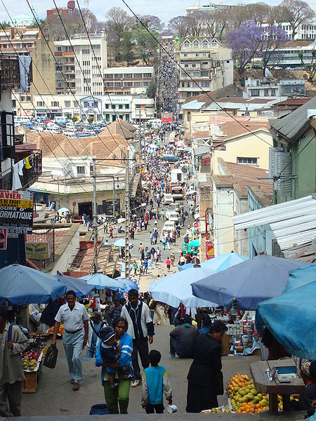 Antananarivo, the capital of Madagascar.