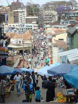 Antananarivo, the capital of Madagascar.