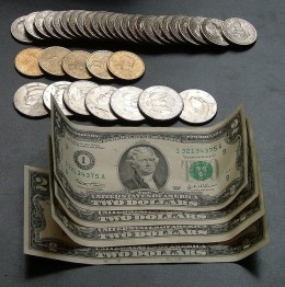 U.S Currency.