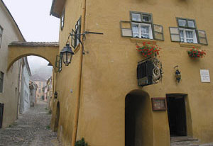 This is the house where Vlad Dracul was born