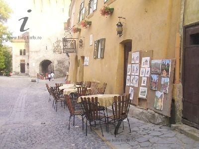 a street of the old burg